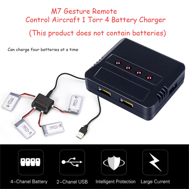 Drone Charger Battery 4 In 1 Battery Charging Hub Fast Charging Portable Smart Battery Intelligent Charging Drone Accessories