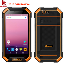 2017 Runbo F1 Plus Original Ip67 Rugged Waterproof Phone Tough 6GB RAM