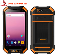 China Original Ip67 Rugged Waterproof Phone Tough 6GB RAM Smartphone Android 7 0 Runbo F1 Plus