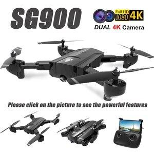 Image 2 - SG900 Wifi RC Drone ile 720P 4K HD Çift Kamera GPS Beni takip Quadrocopter FPV Profesyonel Drone Uzun pil Ömrü Oyuncak Çocuklar Için