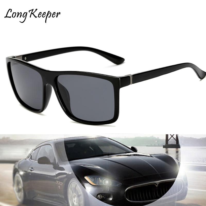 Long Keeper 2018 Sunglasses Men Polarized Square Sunglasses