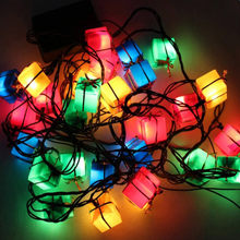 3m LED String Light Christmas Tree Decoration Gift Box Light Hanging String Christmas Wedding Festival Decorative Light EU Plug(China)
