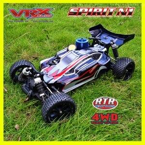 VRX Racing RH1006 SPIRIT N1 nitro buggy 1/10 Scale 4WD Nitro, RC автомобиль, FC.18 Двигатель, высокоскоростной нитро двигатель, внедорожный rc автомобиль