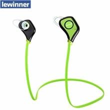 Lewinner IPX4-rated sweatproof стерео bluetooth 4.1 наушники беспроводные спорт наушники aptx гарнитура с МИКРОФОНОМ для iphone 7 S8