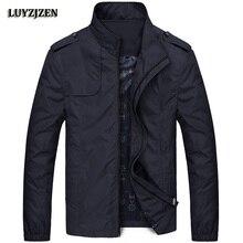 Jacket Men 2017 New Brand Men's Fashion Long Sleeve Coats Male Slim Fit Solid Casual Jackets Windproof Outwear Jaqueta Veste 617