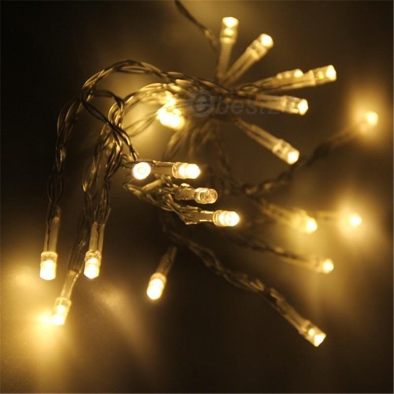 aliexpresscom buy led battery light 2m 3m 4m 5m christmas string christmas lights holiday lightsweddingroad led decoration lamp series battery from