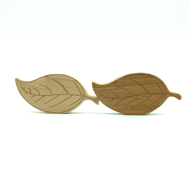 Leaf Shape USB Flash Drive Julklapp Pendrive 8 GB 64 GB 16 GB Flash Drive Pen Drive 32 GB USB-minne