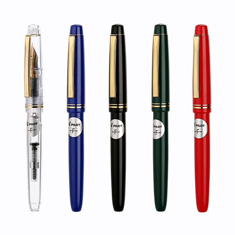 Japan Pilot FP-78 78g+ 22k golden original Iridium fountain pen students practice calligraphy ef f m nib цены