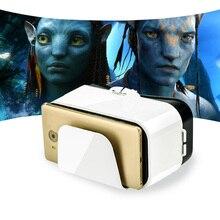 Vr коробка 3D гарнитура Виртуальная реальность очки 6.6 дюймов Экран Googles картона 3D Очки для смартфона 4.5-6.6 дюймов новая версия