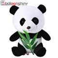 18 cm 25 cm Mini Sentando Panda Bambu Macio Toy Animal de Pelúcia Crianças Playmate Brinquedos do bebê Boneca Calma Kawaii Presente Bonito Crianças Tamanho Pequeno