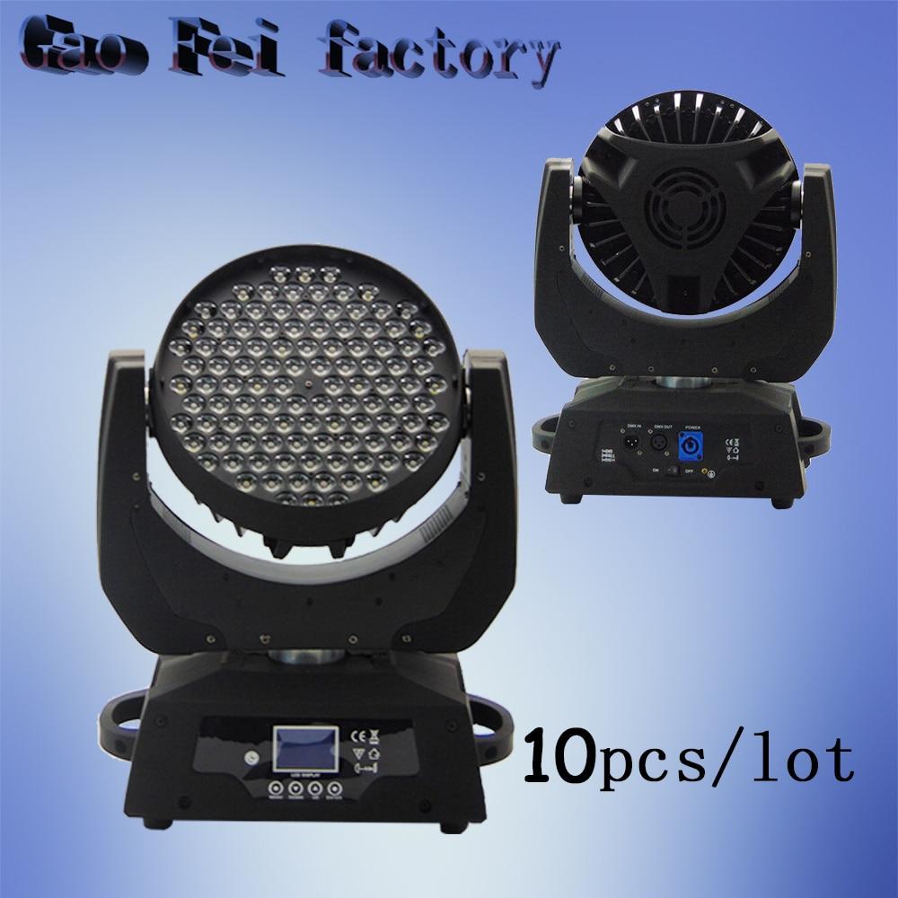 10pcs/lot LED disco light 108pcs*3W RGBW led moving head wash light10pcs/lot LED disco light 108pcs*3W RGBW led moving head wash light