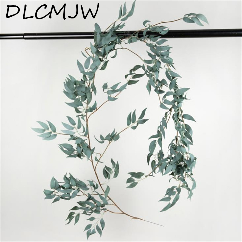 Home & Garden Artificial Willow Vine Begonia Leaves Simulation Plant Green Ivy Rattan Garland Wedding Garden Home Hotel Decorative Flowers Festive & Party Supplies