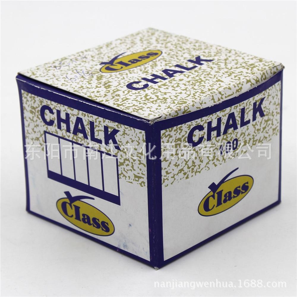 100 Pcs/Lot New Safe Dustless Chalk Pen Tizas Escolar Drawin