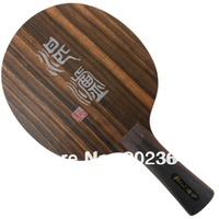 Table Tennis Blade for Ping Pong Racket Palio ZL Zhanlu 5 Wooden / Ebony (Loop+Attack) OFF racquet sports