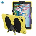 YUNAI For iPad mini 1/2/3 Retina Kids Baby Safe Shockproof Heavy Duty Silicone Hard Case Cover New 7.9inch Stand Cover Case