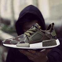 Outdoor Military Camouflage Men Casual Shoes Summer 2017 Krasovki Smith Men Army Green Trainers Ultra Boosts