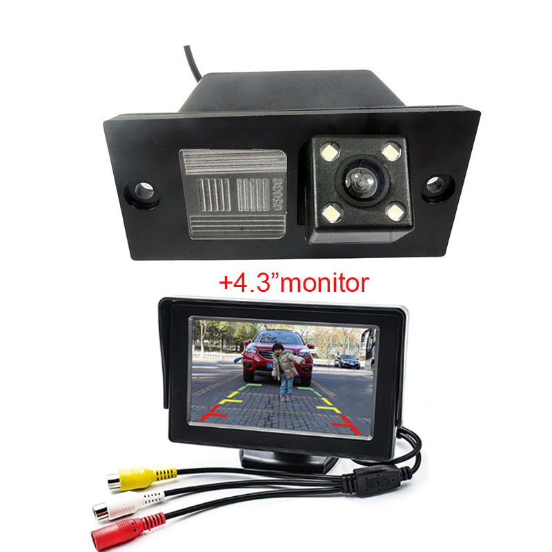 Waterproof Car Parking Reversing Back Rear View Camera For HYUNDAI H1 GRAND STAREX I800 H100 H300 With 4.3