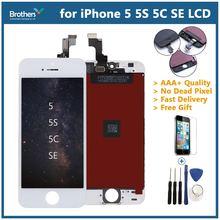 Для iphone 5 5s se ЖК дисплей Дисплей Сенсорный экран планшета