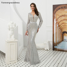 Forevergracedress Actual Evening Dresses 2019 Long Sleeves