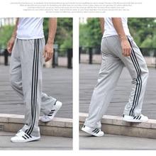 9fb890552c Marka potu spodnie mężczyźni lato biegaczy spodnie w pasie luźne spodnie  dresowe dla mężczyzn Plus rozmiar
