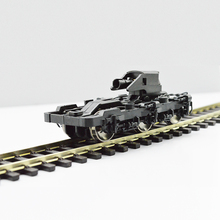 Train Ho 1:87 Scale Model Train Universal Train Undercarriage accessories hassis Bogie Building Kits DIY accessories Hot Sale