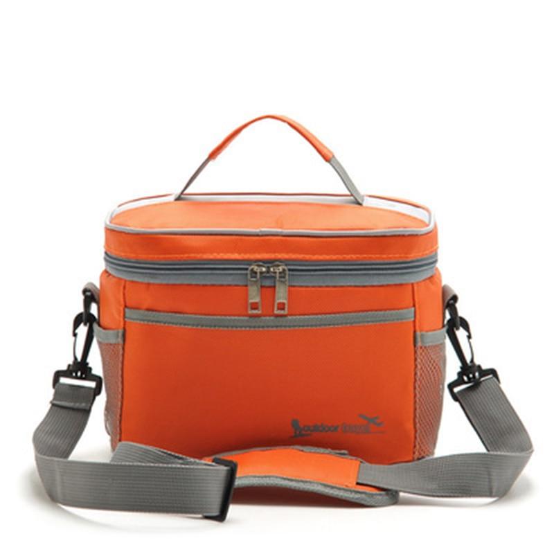 square thermal lancheira lunch bag cooler beam port lunch box work school picnic lady handbag. Black Bedroom Furniture Sets. Home Design Ideas