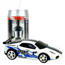Hot Sale 4CH 1:58 Genuine Multicolor Coke Can Mini RC Radio Remote Control Machine Highspeed Micro Racing Car Toy Gift