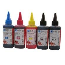 100ml Refill Dye ink for canon 470 471 PGI470 CLI471 ink cartridge ciss for CANON PIXMA MG6840 MG5740 TS5040 TS6040 printer