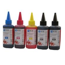 100ml doldurulan mürekkep boya için canon 470 471 PGI470 CLI471 mürekkep kartuşu ciss CANON PIXMA MG6840 MG5740 TS5040 TS6040 yazıcı