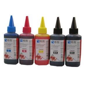 Image 1 - 100ml doldurulan mürekkep boya için canon 470 471 PGI470 CLI471 mürekkep kartuşu ciss CANON PIXMA MG6840 MG5740 TS5040 TS6040 yazıcı