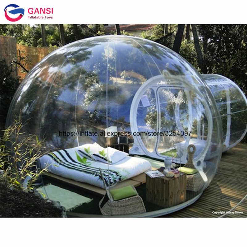 inflatable clear tent173