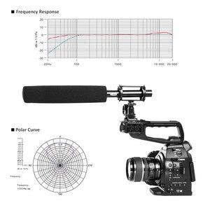 Image 4 - BOYA BY PVM1000L Shotgun Video Interview Microfoon w/Shock Mount, Voorruit, case voor Canon Nikon Sony DSLR Camera Camcorder