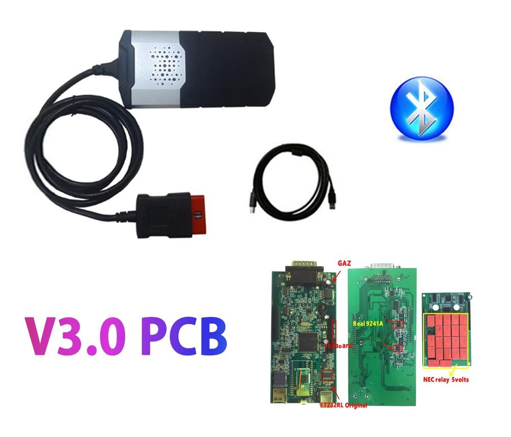Image 2 - 2016.0 R0 keygen obd2 obdii Scanner Single PCB bluetooth vd ds150e cdp 2015.R3 new vci car truck diagnostic tool for delphis-in Car Diagnostic Cables & Connectors from Automobiles & Motorcycles