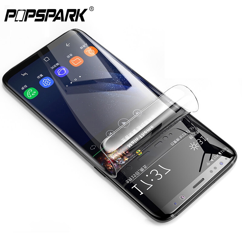 3D HD Full Cover Screen Protector PET Soft Film For Samsung Galaxy S8 Note8 S7 Edge S8 S9 Plus S10 Plus List Protective Film