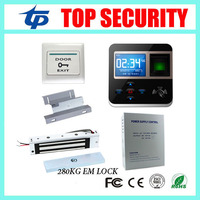 TCP/IP Touch Screen F211 Time Attendance And Access Control System RFID Card 125Khz Smart Card Door Access Control System