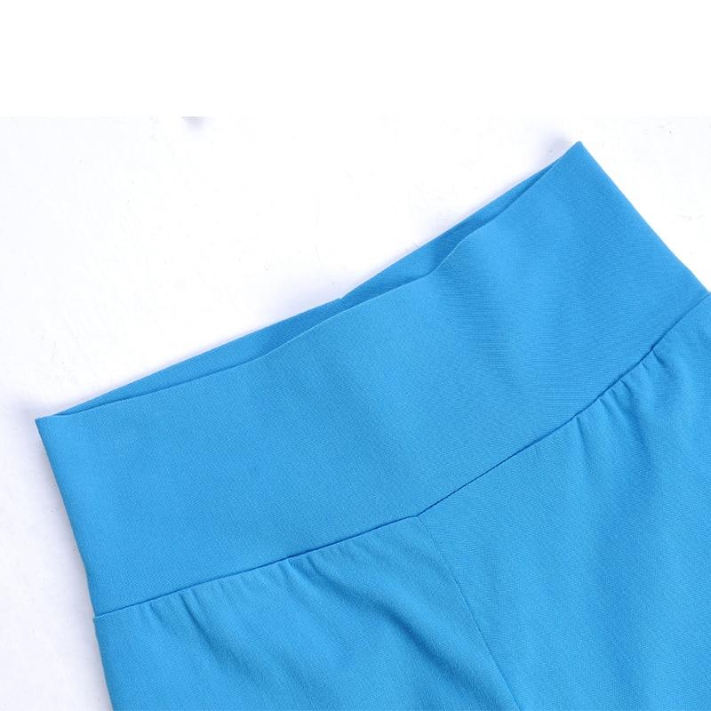 2018 busana musim panas 16 warna celana kasual wanita, Pinggang - Pakaian Wanita - Foto 4