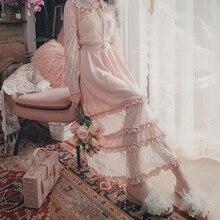 Милые Юбки принцессы в стиле Лолиты, тонкая юбка для французских девушек с яркими серебряными кружевами и узкими прошитыми юбками для женщин, B1723