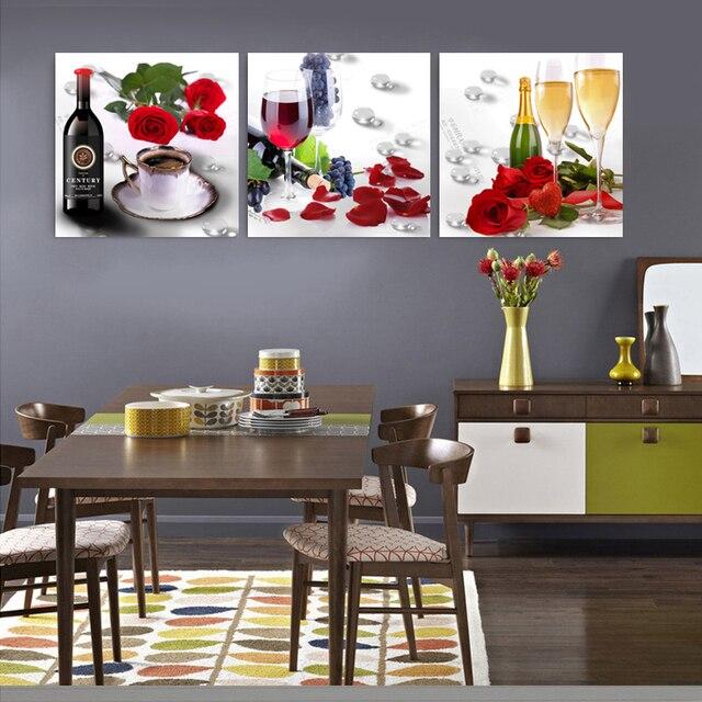 Cuadros Home Decor cocina fotos abstracta al óleo abstracta para ...