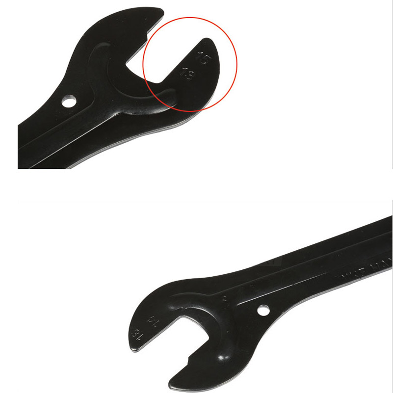 Bicycle hub wrench Lightweight and portable 2Pcs a necessary tool for cycling