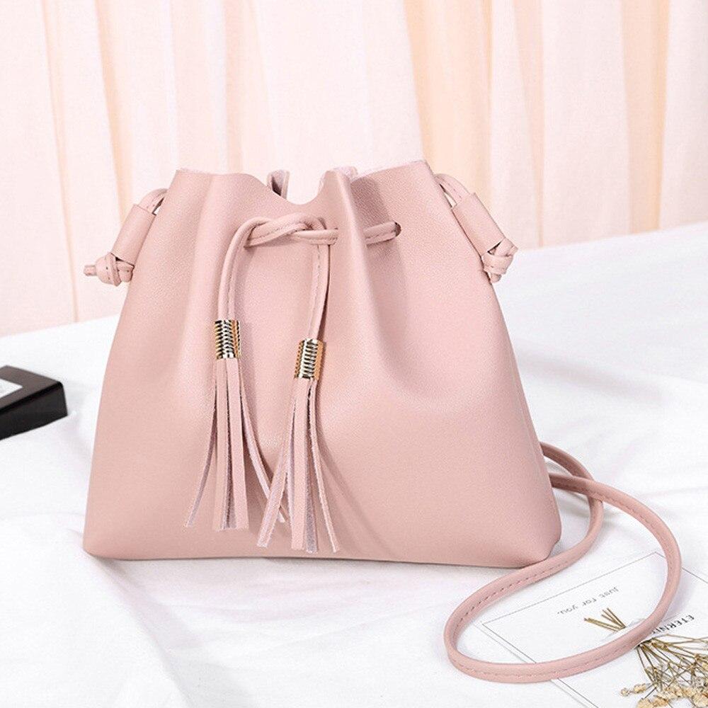 Fashion Women Bag High Quality Tassels Crossbody Bag PU Leather Mini Female Shoulder Bag Phone Bag Bolsas Feminina все цены