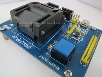 Original ST IC Test Seat STM32-LQFP48 Burning Programme STM32 Socket Adapter