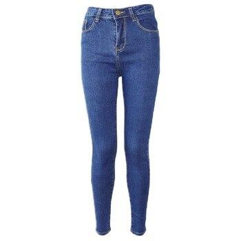 Женские узкие джинсы стрейч с высокой талией