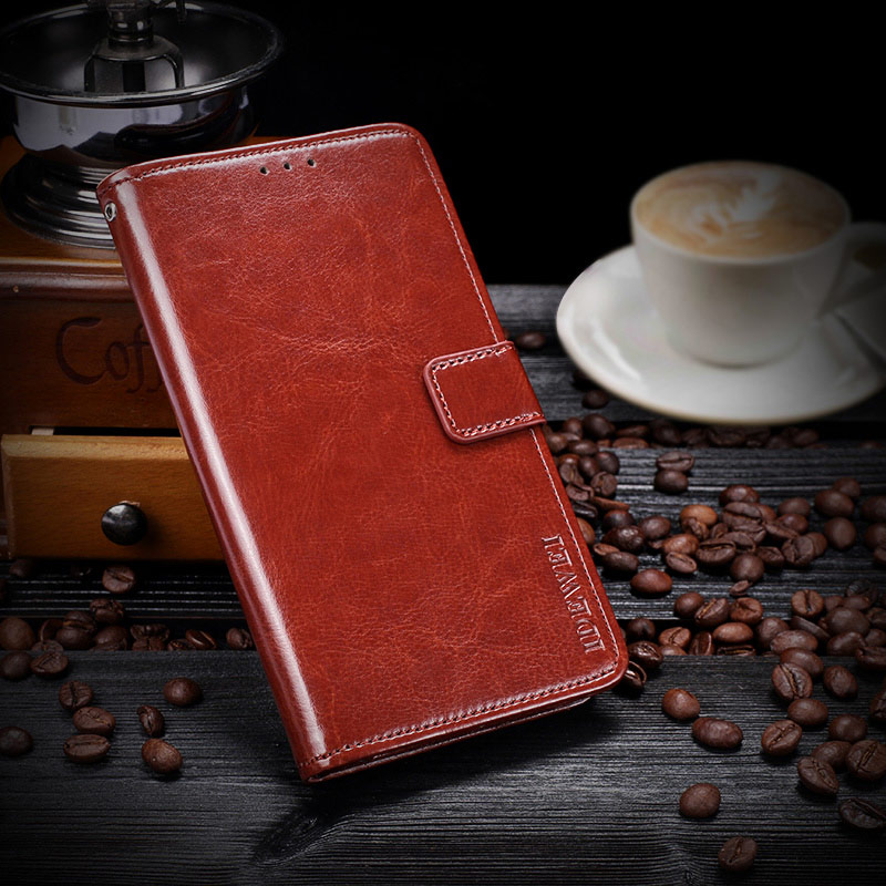 Luxury Leather Flip Case For Leagoo M9 Pro Case Cover Leagoo S8 M8 Pro T5 T5C Kiicaa Mix Power Z7 Phone Case Back Cover