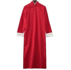 Image 4 - Детская и взрослая хлопковая форма кунг фу 9 цветов для Тай Чи taoist robe crosstagown Wing Chun Suit одежда зеленая/белая/красная/синяя