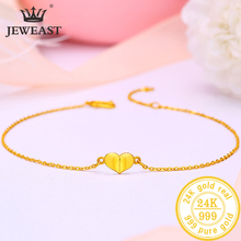 BTSS 24K Pure Gold Bracelet Real 999 Solid Gold Bangle Upscale Beautiful  Romantic Trendy Classic Jewelry Hot Sell New 2020