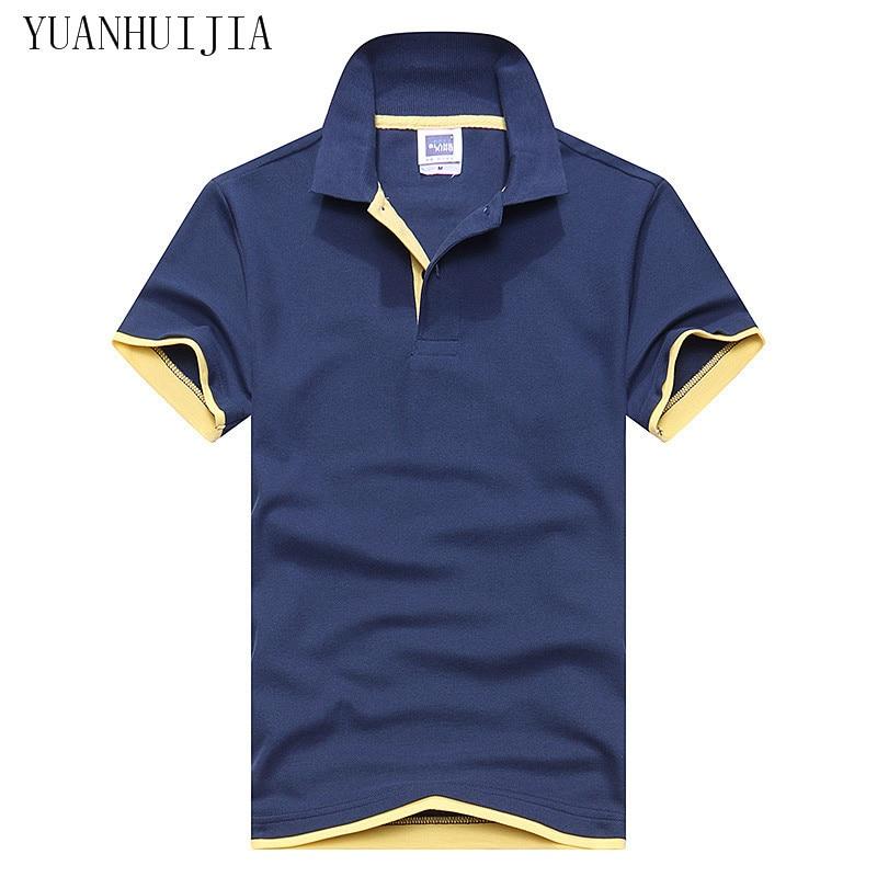 2016 new fashion   polo   short-sleeved summer masculinas lapel casual men's   polo   shirt many colors