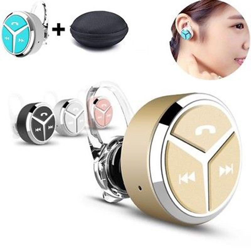SIFREE Q5 Bluetooth Headset Wireless Bluetooth Headphones Earphone Audio Head Phone In Ear Earbuds for Smartphone