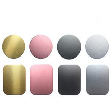 1pc /5Pcs/lot Metal Plate Disk For Magnet Car Phone Holder Iron Sheet Sticker For Magnetic Mobile Phone Holder Car Stand Mount(China)