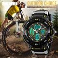 SKMEI Brand Men Sports Watches Dual Time Zone Analog LED Digital Quartz Watch Fashion Student Outdoor Multifunction Wristwatch