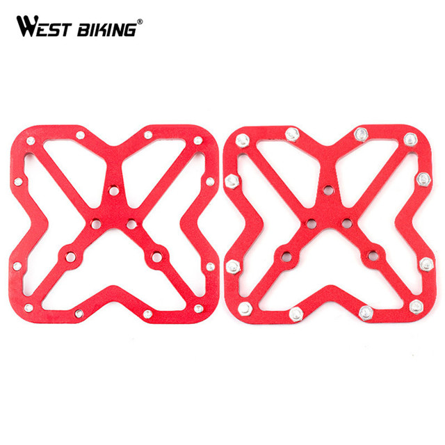 WEST BIKING MTB Clipless Pedal Platform Adapters for SPD for SPEEDPLAY System Bicycle Ciclismo Pedales Bicicleta MTB Bike Pedals